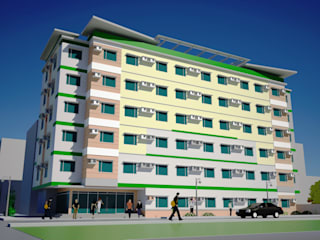 NEWCO Residences:  Hotels by JREDiasanta Architectural Services