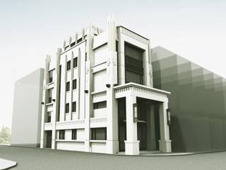 鹿港企業會館:  別墅 by 上埕建築