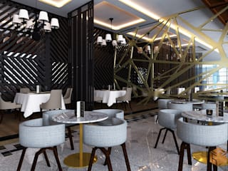 Cafe Rooftop ( Concept ) Gastronomi Modern Oleh Tierbonavi Modern