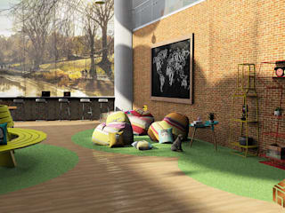 Workspace (Concept) :  Gedung perkantoran by Tierbonavi
