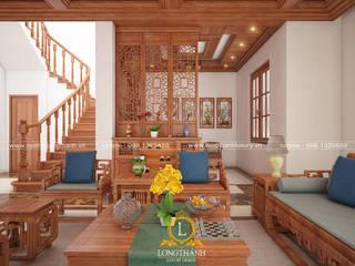 Nội thất Long Thành Asiatische Wohnzimmer