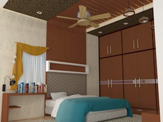 mr. murali residence at alwal by TRUE DIMENSIONS ARCHITECTS