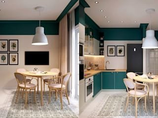 Квартира по ул. Микояна Столовая комната в классическом стиле от Design Service Классический