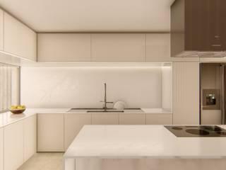 Cocinas de estilo  por Studio Calla Arquitetura, Moderno