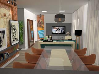 Comedores de estilo moderno de VIVRE | Arquitetura em São José do Rio Preto - SP Moderno