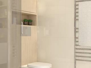 Phòng tắm phong cách hiện đại bởi Stefania Rastellino interior design Hiện đại