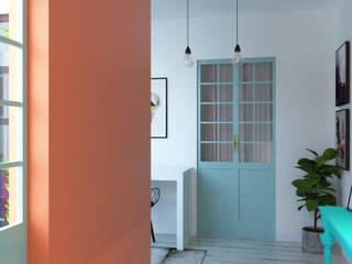 Corridor & hallway by EnVoga , Eclectic
