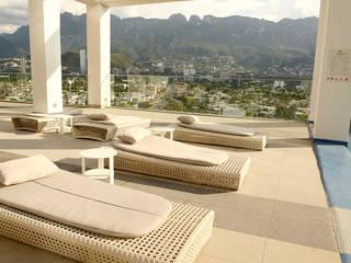 Las Fuentes Fases Furniture SalasBancos y sillas Ratán/Mimbre Blanco