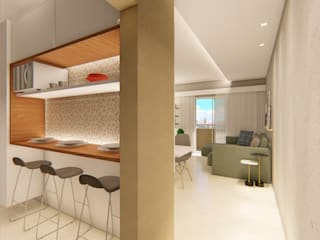 Kitchen by Whill Barros Arquitetura e Design, Eclectic