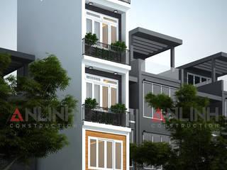 Mẫu nhà phố  - LỤC THÁI HÒA:   by CÔNG TY THIẾT KẾ XÂY DỰNG AN LĨNH