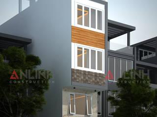 Mẫu nhà phố - NGUYỄN NGỌC YẾN LINH:   by CÔNG TY THIẾT KẾ XÂY DỰNG AN LĨNH