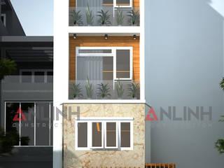 Mẫu nhà phố - NGUYỄN TRÍ SANG:   by CÔNG TY THIẾT KẾ XÂY DỰNG AN LĨNH