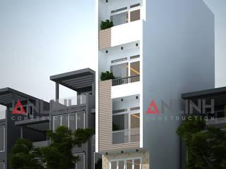 Mẫu nhà phố - LƯU LỆ VĂN:   by CÔNG TY THIẾT KẾ XÂY DỰNG AN LĨNH