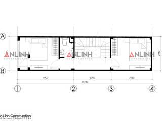 Mẫu nhà phố - NGUYỄN THỊ DIỆU:   by CÔNG TY THIẾT KẾ XÂY DỰNG AN LĨNH