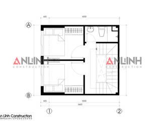 Mẫu nhà phố - NGUYỄN THỊ TUẦN:   by CÔNG TY THIẾT KẾ XÂY DỰNG AN LĨNH