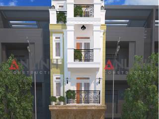 Mẫu nhà phố - VÕ THỊ TUYẾT NHUNG:   by CÔNG TY THIẾT KẾ XÂY DỰNG AN LĨNH