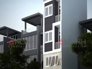 Mẫu nhà phố - VƯƠNG MINH HUY:   by CÔNG TY THIẾT KẾ XÂY DỰNG AN LĨNH
