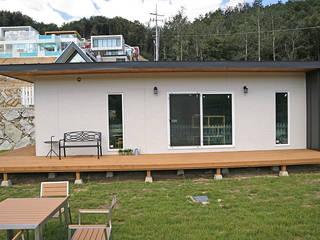 10평 이동식목조주택은 주말주택 또는 펜션으로 딱 안성맞춤: TINYHOME의
