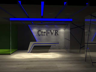 Reception Area:  Commercial Spaces by Freelance designer