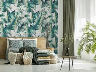 Fototapeta liście palmy: styl , w kategorii  zaprojektowany przez MYLOVIEW