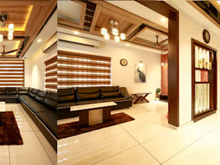 Country style living room by Premdas Krishna Country