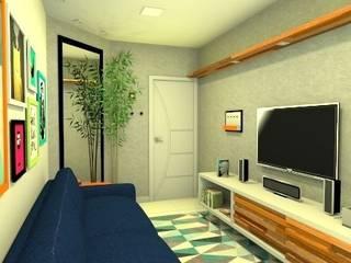 Apartamento WO: Salas de estar  por Studio Elabora