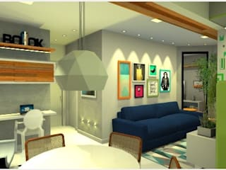 Apartamento WO: Salas de jantar  por Studio Elabora