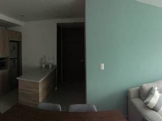 Interior Comedores de estilo minimalista de A + R arquitectos Minimalista