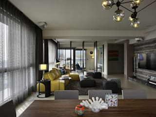 築采 慕尼黑:   by 台中室內設計-築采設計