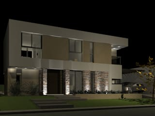 CASA MF de BM3 Arquitectos Moderno