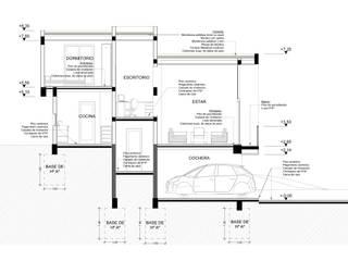 CASA EL MIRADOR de BM3 Arquitectos Moderno