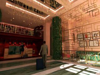Hoteles de estilo  por Atelier  Ana Leonor Rocha , Ecléctico