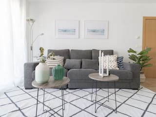 Living room by Become a Home, Scandinavian