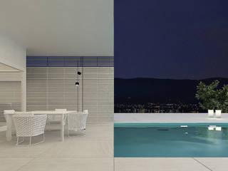 lakeSide: styl , w kategorii Basen zaprojektowany przez Anna Maj Interiors
