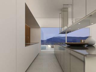 lakeSide: styl , w kategorii Kuchnia zaprojektowany przez Anna Maj Interiors