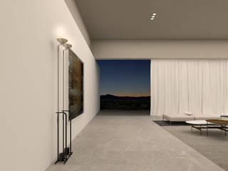 shapeShift: styl , w kategorii Korytarz, przedpokój zaprojektowany przez Anna Maj Interiors