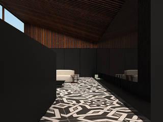 re`PATTERN: styl , w kategorii Salon zaprojektowany przez Anna Maj Interiors