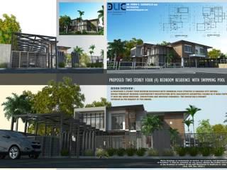 :  Villas by E.V.Casbadillo Arquitectura,Modern