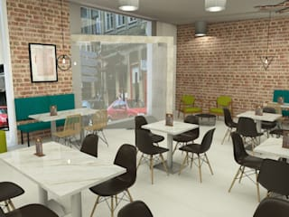 Restaurantes de estilo  por Ci interior decor