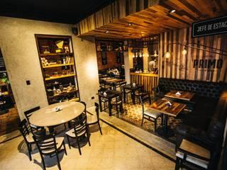 Industrial style gastronomy by María Florencia Funes Industrial