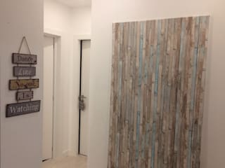 Scandinavian style corridor, hallway& stairs by Acontece Design Solutions Scandinavian