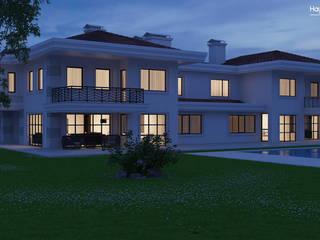 Dündar Design - Mimari Görselleştirme – Villa :  tarz Evler