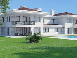 Modern houses by Dündar Design - Mimari Görselleştirme Modern