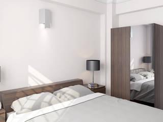 Dündar Design - Mimari Görselleştirme – Yatak Odası:  tarz Yatak Odası