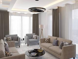 Dündar Design - Mimari Görselleştirme Modern Living Room