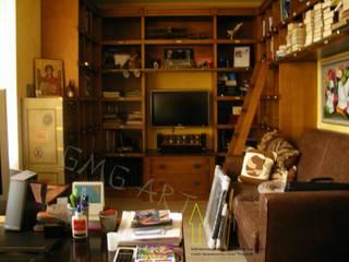 Библиотека в городской квартире:  в . Автор – GMG-3-ART