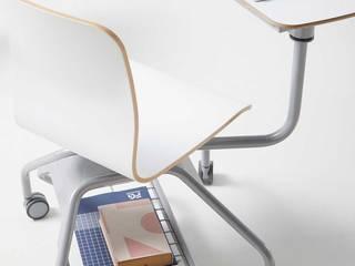 Pad Chair, la silla escolar para nuevos espacios educativos de Alegre Design Moderno
