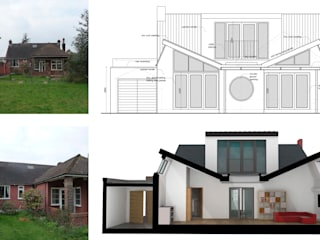 Stoneleigh KT17 | Extension and alterations to a bungalow by GOAStudio | London residential architecture Modern