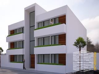Multi-Family house by HHRG ARQUITECTOS, Modern