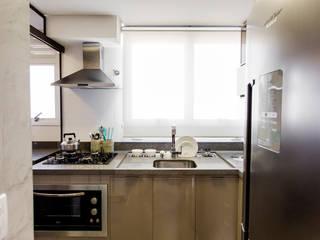 Cobertura TL Cozinhas modernas por Nathalia Bilibio Arquitetura e Construção Moderno